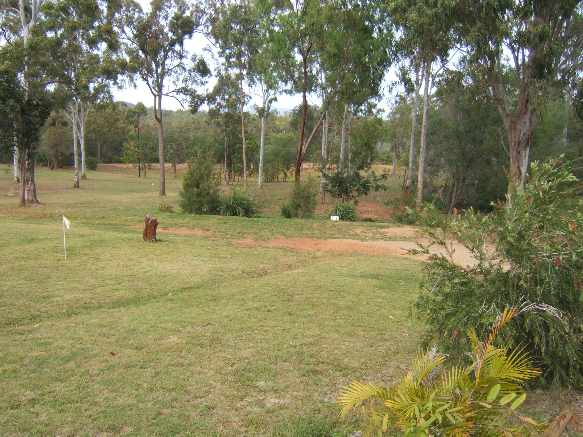 bush golf course